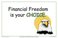 finanical freedom is your choice